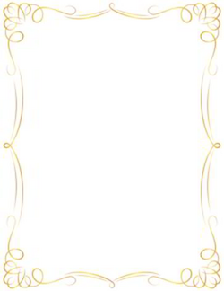 Awesome golden border clipart | Clipart | Pinterest | Clip art ...