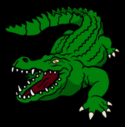 vector alligator mascot