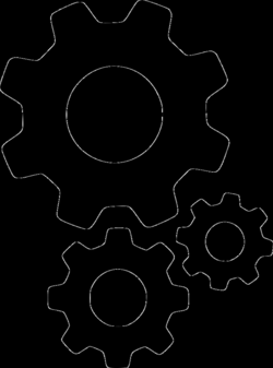 Gears Cogs Settings Options Setting Configure Configuration Svg Png ...