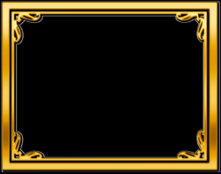 gold frame border free clipart - Google Search   Life Improvers ...