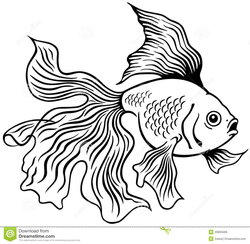 golden clipart black and white