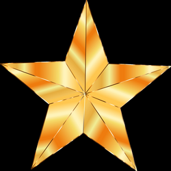 Golden Star Icons PNG - Free PNG and Icons Downloads