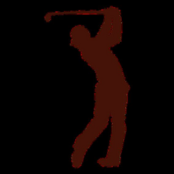 Golf Clubs Silhouette at GetDrawings.com | Free for personal use ...