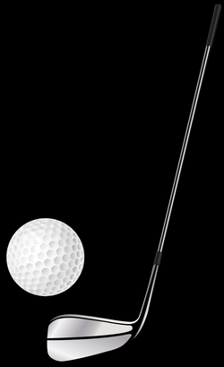 Golf Club Stick and Ball PNG Clip Art - Best WEB Clipart
