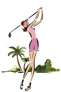 golfing clipart golf lesson