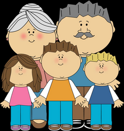PNG Grandparents With Grandchildren Transparent Grandparents With ...