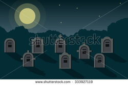graveyard clipart shadow
