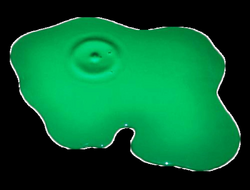 green puddle png