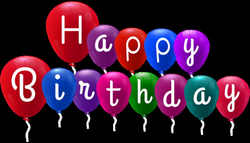 Happy Birthday Balloons PNG Clip Art   Sewing - APLQ / How To ...