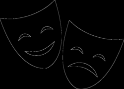 Theater Mask Happy Sad Svg Png Icon Free Download (#561200 ...