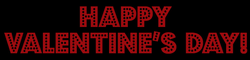 happy valentines day banner png