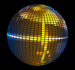 hd stock disco ball png