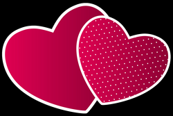 Double hearts PNG Clipart - Best WEB Clipart
