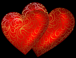 Transparent Hearts Picture | 02 - Valentine's Clipart & Printables ...