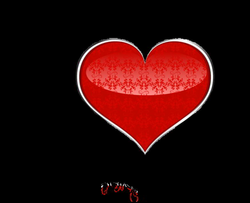 Red Art Heart PNG Clipart | Gallery Yopriceville - High-Quality ...