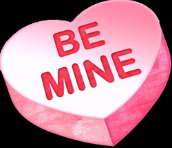 Be Mine Heart Candy