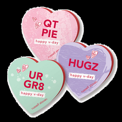 Russell Stover Assorted Chocolate Conversation Heart Gift Box 1.75 ...