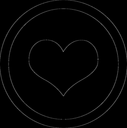 Circle Heart Svg Png Icon Free Download (#189462) - OnlineWebFonts.COM