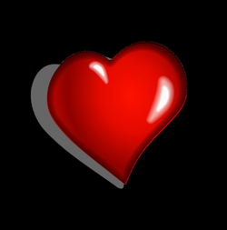 Heart Clipart Side transparent PNG - StickPNG