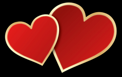 Valentines Day Heart PNG Image with Transparent Background | PNG Arts