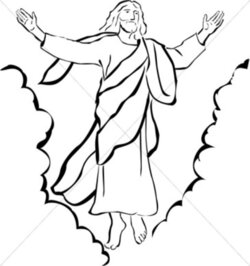 heaven clipart ascension lord