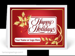Custom Industry Holiday Cards : Harrison Greetings, Business ...