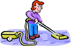 housekeeping clipart animated