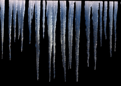 icicles transparent animated