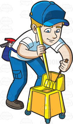 janitor clipart commoner