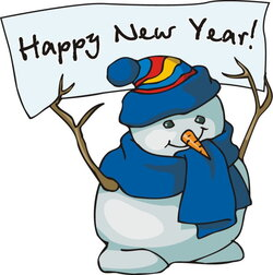 year clipart winter