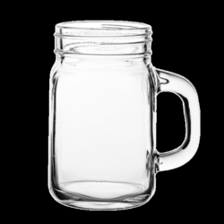 jar transparent glass