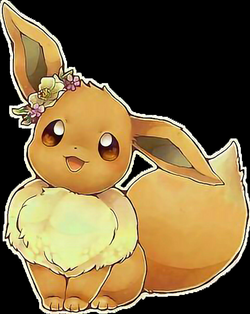 eevee pokemon kawaii - Sticker by StarDaysi93 Fenice