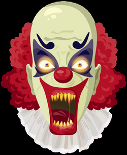 Scary Clown PNG Clipart Image | Halloween clipart | Pinterest ...