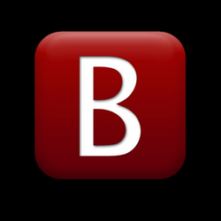 Letter B Save Icon Format #8876 - Free Icons and PNG Backgrounds