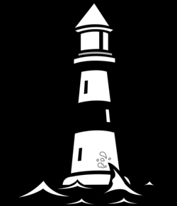 Lighthouse Vector Clip Art | Nautical Silhouettes, Vectors, Clipart ...