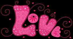 Pink Love PNG Clipart | Gallery Yopriceville - High-Quality Images ...