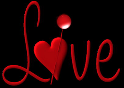 Red Love with Heart PNG Picture | Gallery Yopriceville - High ...