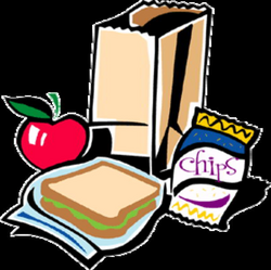 lunch clipart backpack