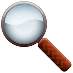 magnifying clipart observation