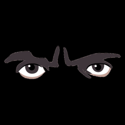 male anime eyes png