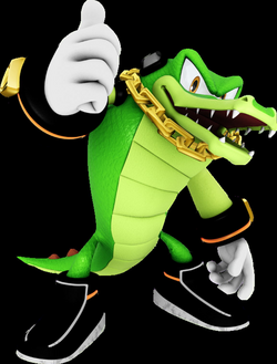 vector alligator sonic