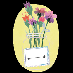 Flowers Mason Jar, Flowers, Mason Jar PNG and PSD File for Free Download