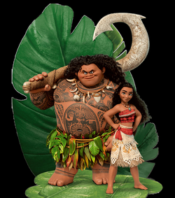 Moana e Maui Transparent PNG #46110 - Free Icons and PNG Backgrounds