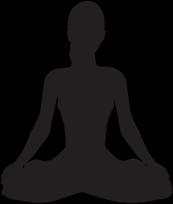 Meditating Buddha Silhouette at GetDrawings.com | Free for personal ...