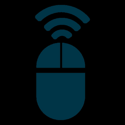 Wireless mouse icon - Transparent PNG & SVG vector