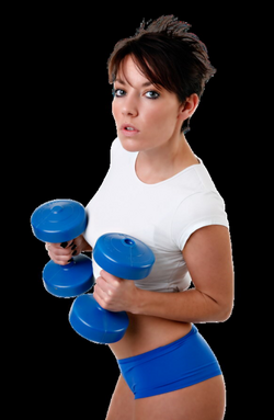 muscle arm woman png