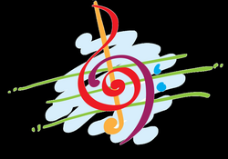 Image of Colorful Music Clipart #11474, Colorful Musical Notes ...
