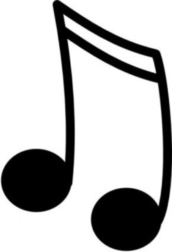 sign clipart music