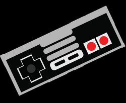 nes controller cartoon png