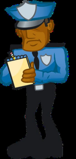 police clipart ticket